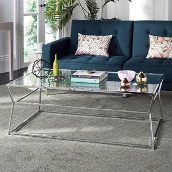Safavieh Contemporary Glass Coffee Table