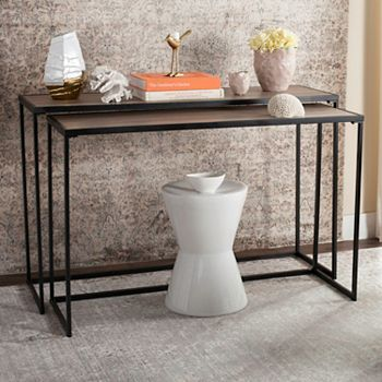 Safavieh Contemporary Nesting Console Table 2-piece Set | null