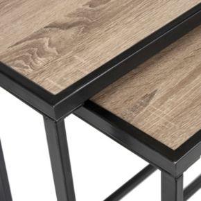 Safavieh Contemporary Nesting Console Table 2-piece Set
