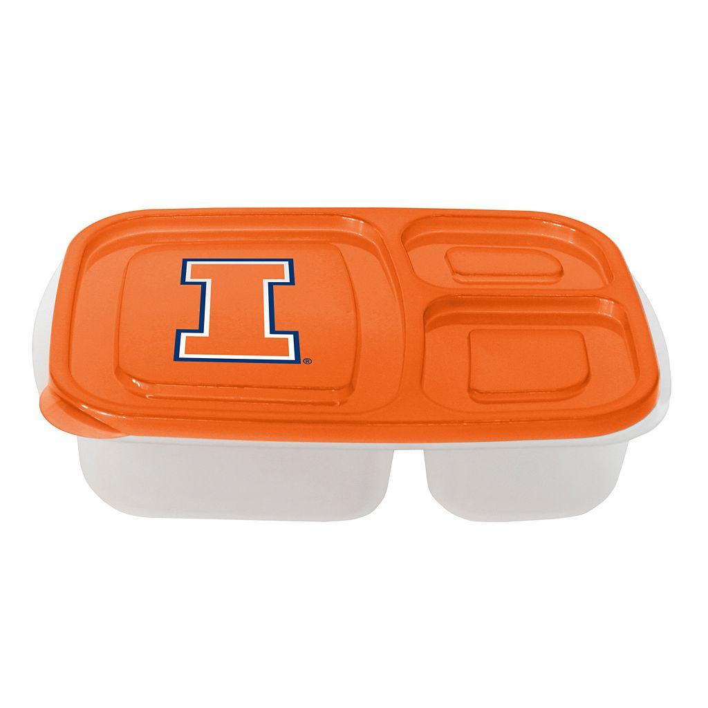 Boelter Illinois Fighting Illini Lunch Container Set