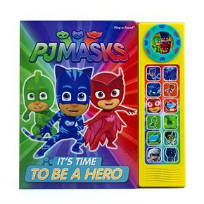 "PJ Masks ""It's Time To Be A Hero"" Sound Book"