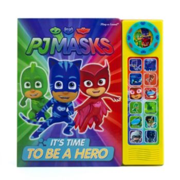 """PJ Masks """"It's Time To Be A Hero"""" Sound Book"""