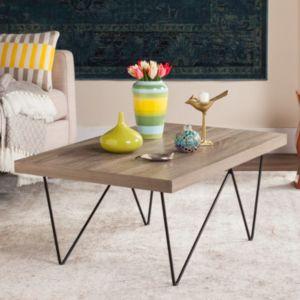 Safavieh Asymmetrical Contemporary Coffee Table