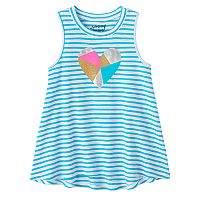 Girls 4-10 Jumping Beans® High-Neck Swing Tank Top