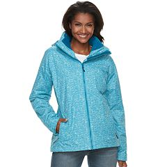 Women's Columbia Ruby River Hooded 3-in-1 Systems Jacket