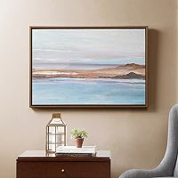 Madison Park Sea To Sky Framed Canvas Wall Art