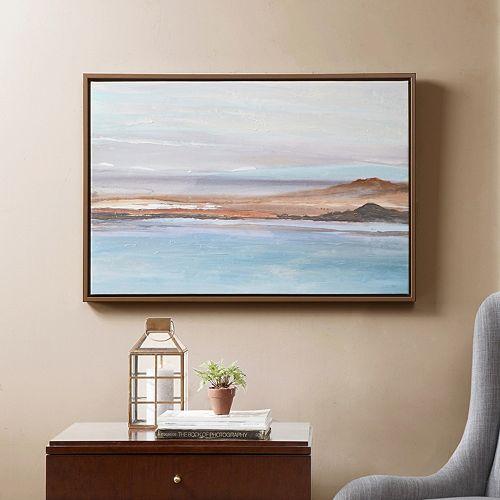 Madison Park Sea To Sky Framed Canvas Wall Art