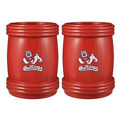 Boelter Fresno State Bulldogs Mega Cool Can Holder Set