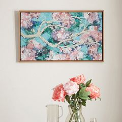 Madison Park Blossoming Dreams 2 Framed Canvas Wall Art
