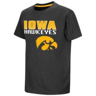 Boys 8-20 Campus Heritage Iowa Hawkeyes Heathered Tee