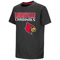 Boys 8-20 Campus Heritage Louisville Cardinals Heathered Tee