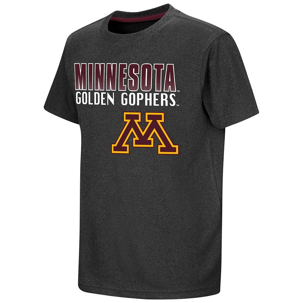 Boys 8-20 Campus Heritage Minnesota Golden Gophers Heathered Tee