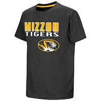 Boys 8-20 Campus Heritage Missouri Tigers Heathered Tee