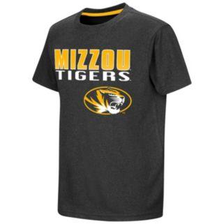 Boys 8-20 Campus Heritage Missouri Tigers Heathered Tee