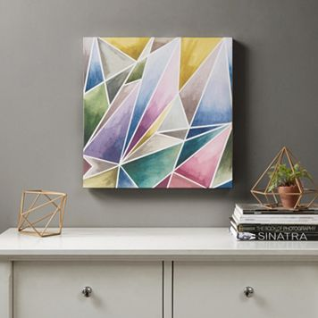 Urban Habitat Watercolor Prism 1 Canvas Wall Art