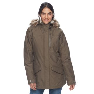 Women's Columbia Penns Creek Thermal Coil® Hooded Faux-Fur Trim Jacket