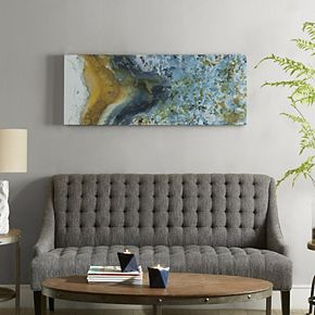 INK+IVY Shattering Rock Canvas Wall Art