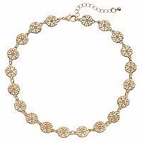 Apt. 9® Openwork Round Link Necklace
