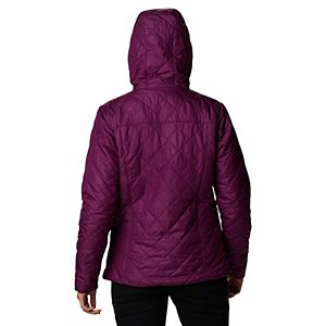 Women's Columbia Copper Crest Hooded Quilted Jacket