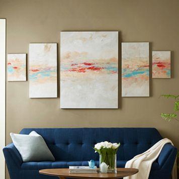 Madison Park Desert Sunset Canvas Wall Art 5-piece Set