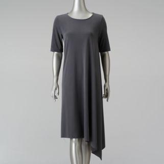 Women's Simply Vera Vera Wang Simply Separates Asymmetrical T-Shirt Dress