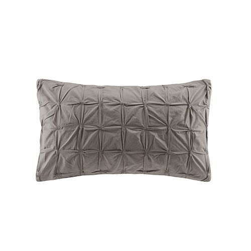 INK+IVY Jane Embroidered Throw Pillow