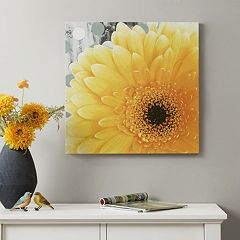 Mi Zone Vibrant Yellow Canvas Wall Art