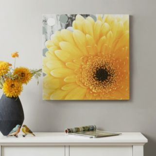 Mi Zone Vibrant Yellow Canvas Wall Art