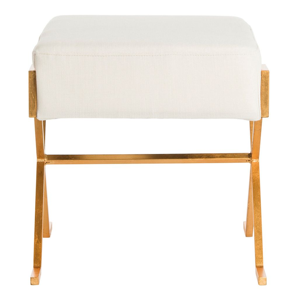 Safavieh Gold Finish Contemporary Bench
