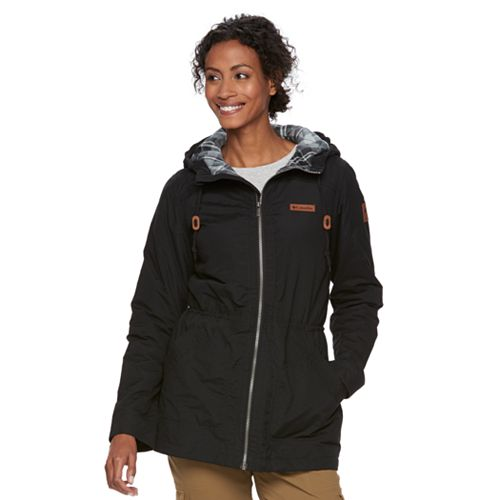 Women's Columbia Cedar Grove Flannel Lined Rain Jacket