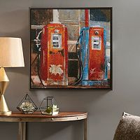 INK+IVY Gas Pumps Canvas Wall Art