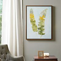 Madison Park Signature Stunning Fern Framed Canvas Wall Art