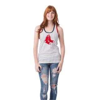 Women's Boston Red Sox Pin Stripe Tank Top