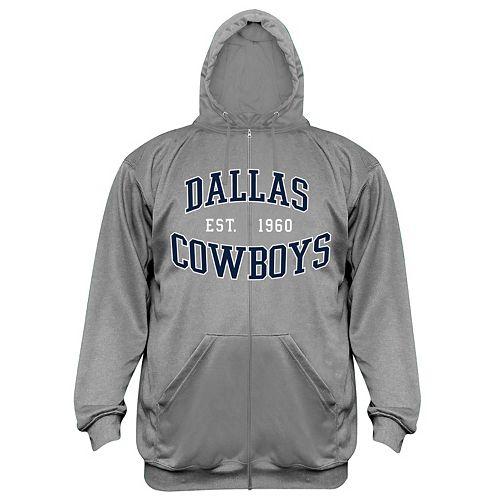the latest 8054f 46900 Big & Tall Majestic Dallas Cowboys Full-Zip Hoodie