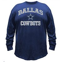 Big & Tall Majestic Dallas Cowboys Heart & Soul Tee