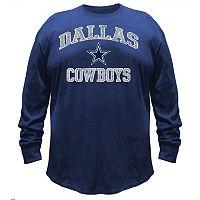 Big & Tall Majestic Dallas Cowboys Heart & Soul Tee