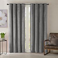 Madison Park Yvette Velvet Window Curtain