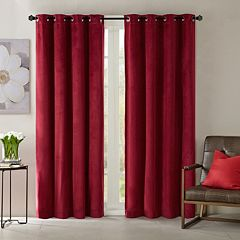 Madison Park 1-Panel Yvette Velvet Window Curtain