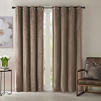 Madison Park Yvette Velvet Window Curtain