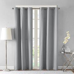 Madison Park Essentials 2-pack Tira Room Darkening Window Curtains