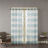 Urban Habitat Chapin Yarn Dyed Window Curtain