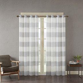 Urban Habitat 1-Panel Chapin Yarn Dyed Window Curtain