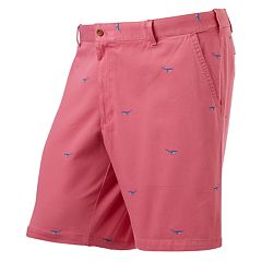 Mens Pink Flat-Front Shorts - Bottoms, Clothing | Kohl's