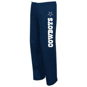 Plus Size Majestic Dallas Cowboys Lightweight Fleece Pants