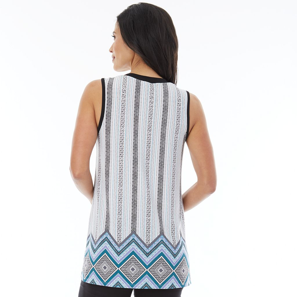 Women's AB Studio Print Swing Tank