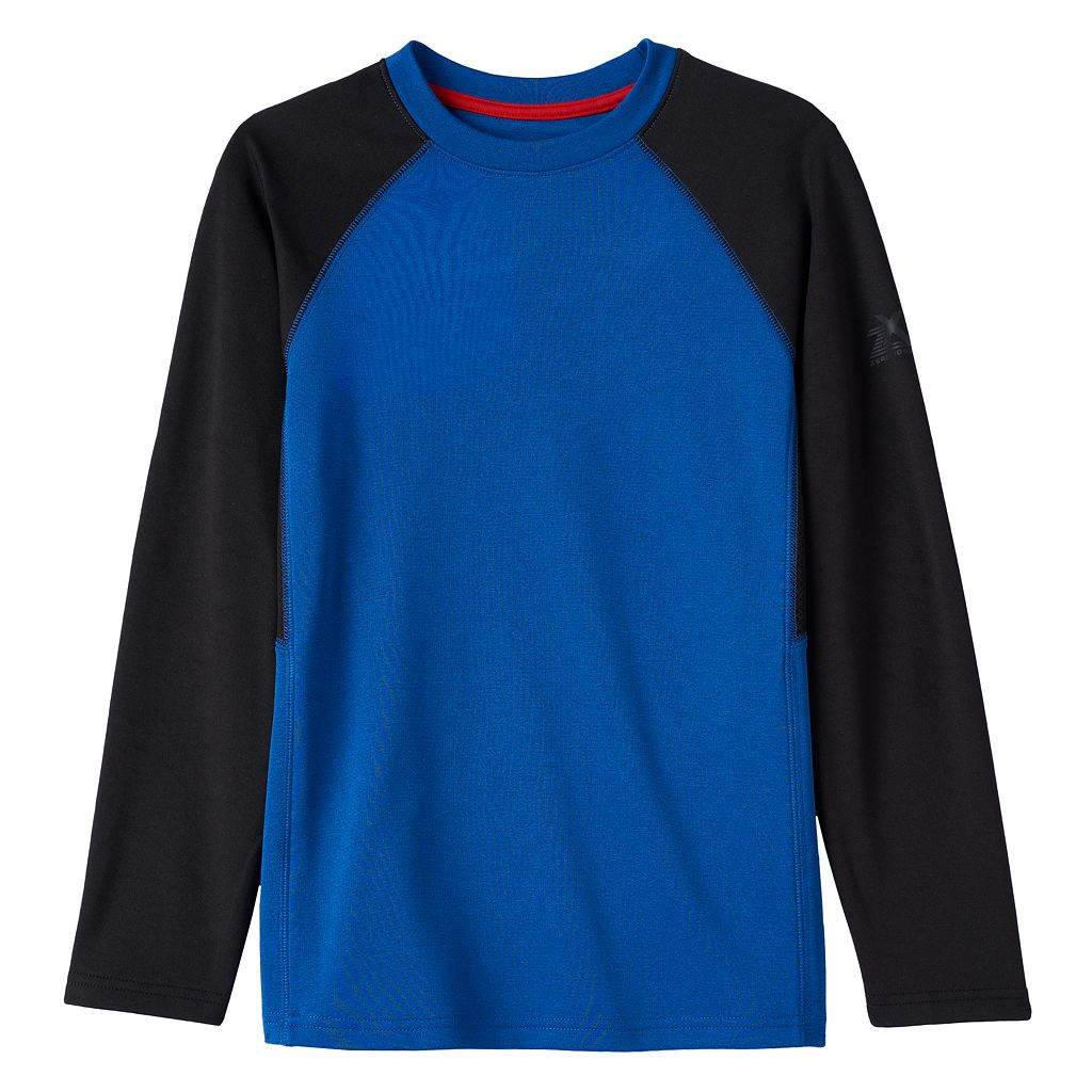 Boys 8-20 ZeroXposur Fleece-Lined Colorblock Tee