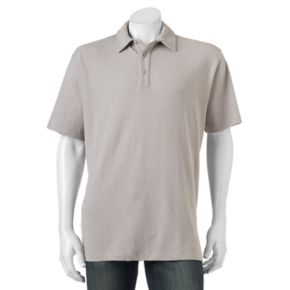 Men's Woolrich Tall Pine Classic-Fit Slubbed Polo
