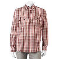 Men's Woolrich Tall Pine Classic-Fit Plaid Button-Down Shirt