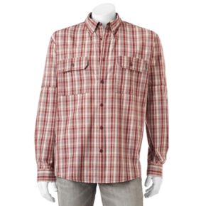 Men's Woolrich Tall Pine Classic-Fit Plaid Button-Down Shirt