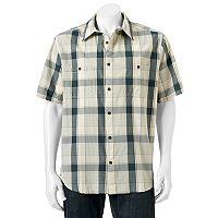 Men's Woolrich Tall Pine Classic-Fit Plaid Ripstop Button-Down Shirt
